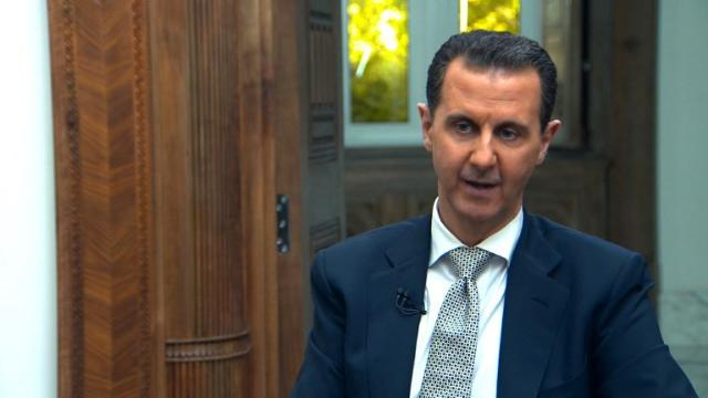 Syria's Assad says chemical attack is pure fabrication