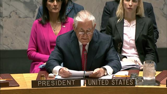 Turning to diplomacy after flexing military muscle, the United States urged the U.N. Security Council on Friday to increase economic pressure on North Korea over its nuclear weapons program, leaning on China in particular to turn the screws on its wayward ally. (April 28)