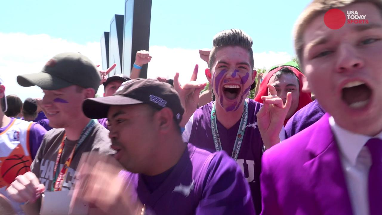 Grand Canyon University's student section, The Havocs, were gifted tickets by their school administration to attend the Final Four.
