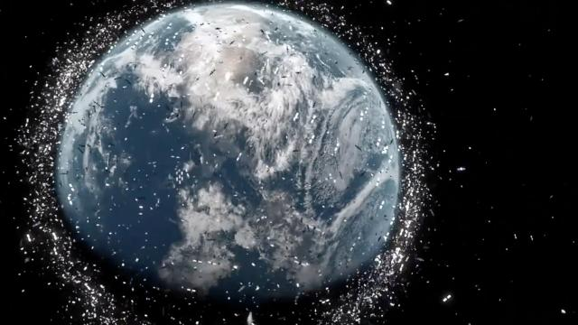 The European Space Agency warns space debris is a serious problem that only a global response can fix.