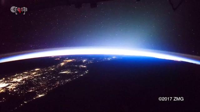Watch memorizing thunderstorm shot from international for Space station usa