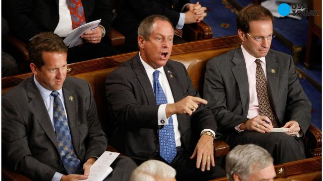 "Image result for Rep. Joe Wilson (R-S.C.) shouted ""You lie!"""