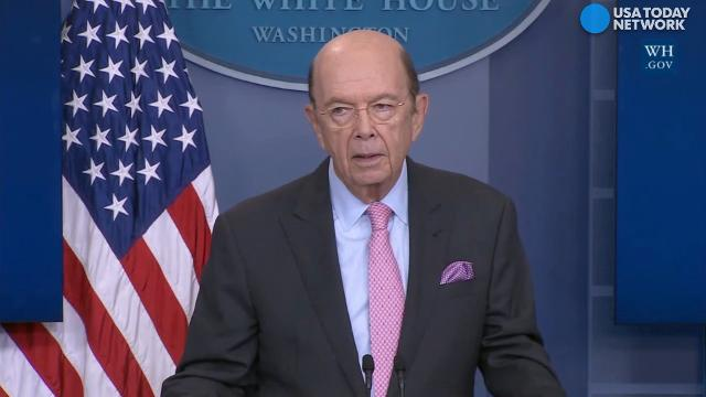 Secretary of Commerce, Wilbur Ross,  broke down the numbers and reason why the White House will impose tariffs on Canadian lumber.