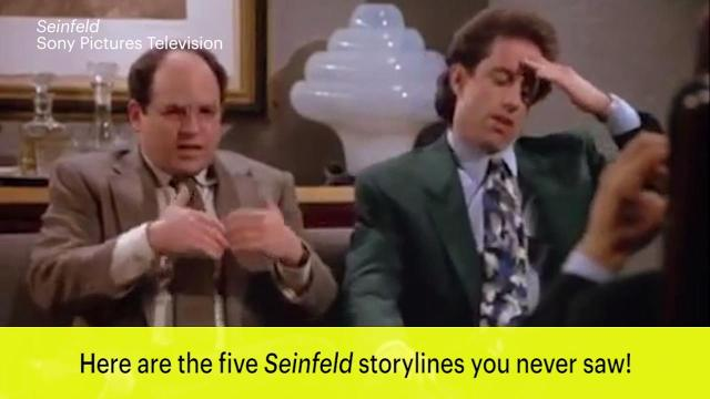 EW spoke to former 'Seinfeld' writer-producers David Mandel and Jeff Schaffer about a few ideas that never made it past the writers' room.