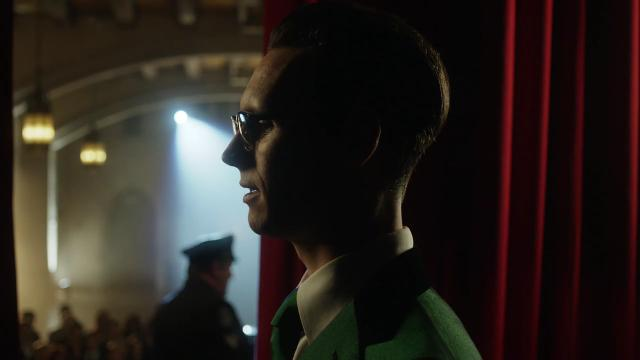 Cory Michael Smith plays Edward Nygma, aka the Riddler, and Donal Logue is Harvey Bullock in an exclusive clip from Fox's 'Gotham.'