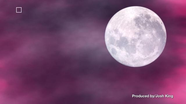 You Can Still See The Pink Moon Tuesday