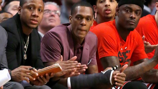 Rajon Rondo may attempt to play with an injured thumb in Game 5 against the Celtics, according to the Vertical.