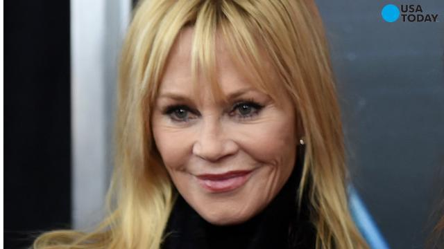 Melanie Griffith now and then