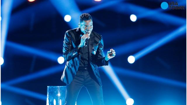 Chris Blue was the last singer to be selected during the blind auditions on 'The Voice.'