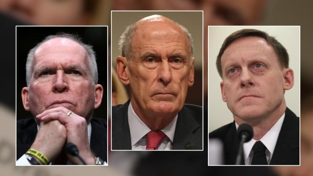 Former CIA Director John Brennan confirmed Trump associates had ties to Russia, while National Intelligence Director Dan Coats declined to comment. Video provided by Newsy