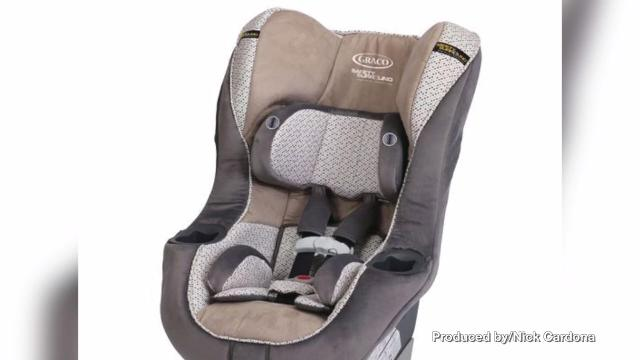 Graco Recalls 25000 My Ride 65 Car Seats Over Flaw In Webbing