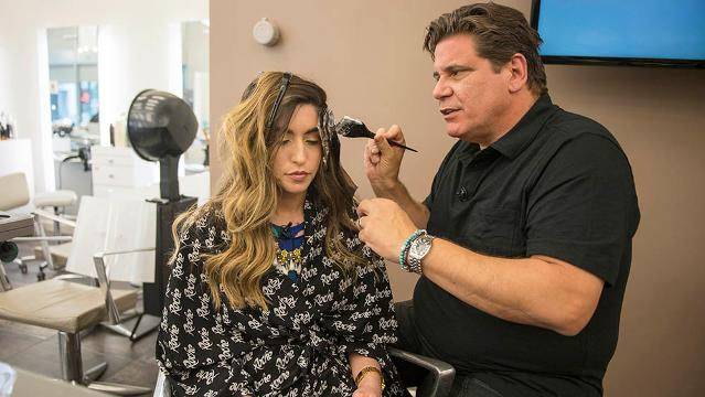 Erin Jensen interviews celebrity hair colorist Michael Canalé for tips on maintaining hair color throughout the summer while getting a Jennifer Aniston-inspired makeover at the Roche Salon in Washington, D.C.