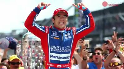 "Takuma Sato becomes the first Japanese driver to win the Indy 500, as he held off Helio Castroneves and denied him a chance at a fourth win at ""The Greatest Spectacle in Racing."""