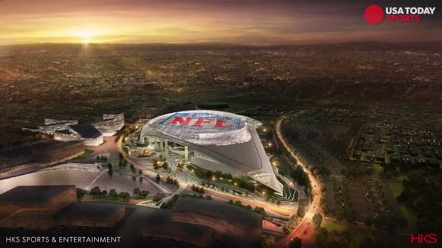 Renderings of the Rams' new stadium are spectacular