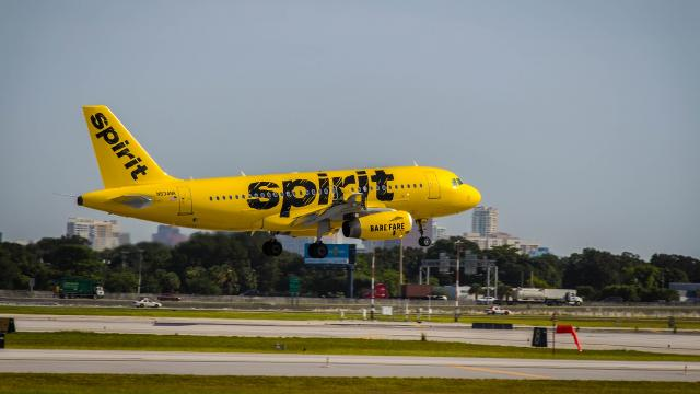 Spirit Airlines pilot dispute blamed for cancellation of