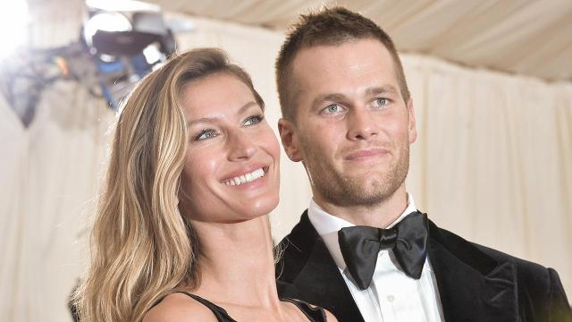 The wife of New England Patriots quarterback Tom Brady says that he has had concussions during his career, including one last year.