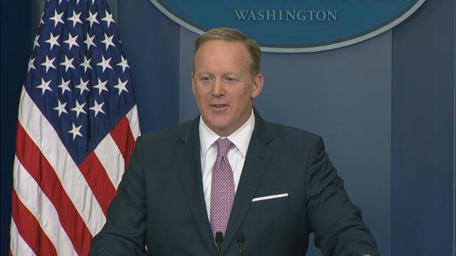 Spicer: Russia collusion is a 'false narrative'