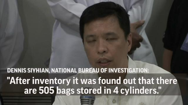 Philippine authorities say they've seized 605 kilograms (1,334 pounds) of methamphetamine shipped from China following a tip from the Chinese government. (May 29)