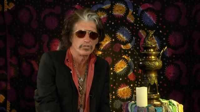 Steven Tyler and Joe Perry of Aerosmith reveal that they are going to keep going even with the band's 50th anniversary looming. (May 28)
