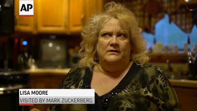 Facebook CEO Drops By Ohio Family's Home