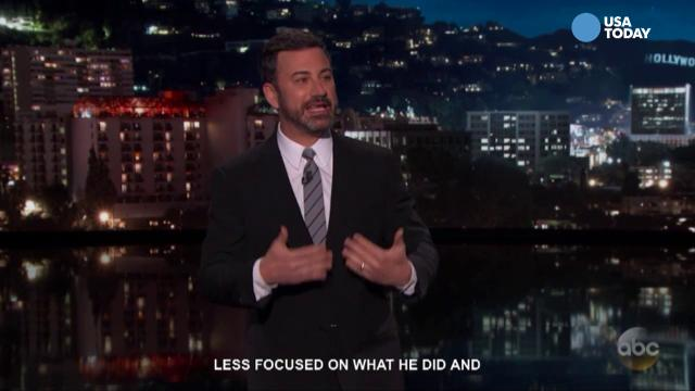 Late-night comics on President Trump divulging classified information to Russian officials. Take a look at our favorite jokes, then vote for yours at opinion.usatoday.com.