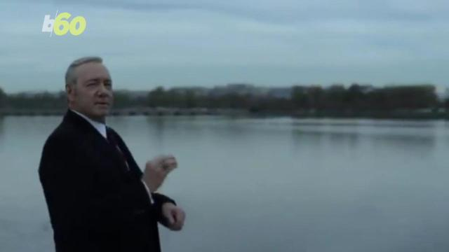 The promo for the final season of 'House of Cards' might be just 20 seconds long but boy is it creepy…. Susana Victoria Perez (@susana_vp) has more.