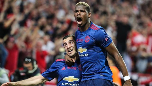 Manchester United defeated Ajax in the Europa League final on Wednesday, clinching a spot in next season's Champions League.