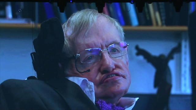 Stephen Hawking makes a scary prediction