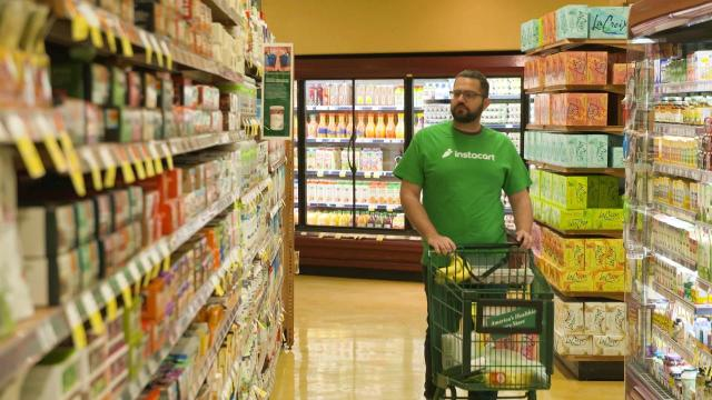 Instacart founder and CEO Aproova Mehta explains what makes his grocery delivery system different from others like Amazon's and Walmart's.