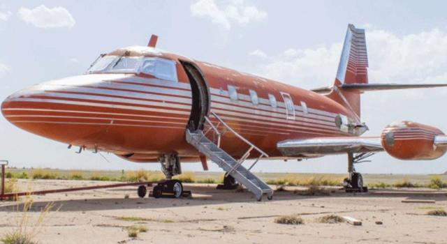 The plane goes up for auction this weekend.