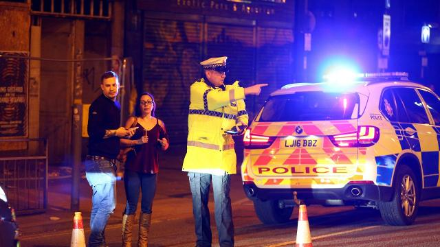Manchester police have reported multiple fatalities after at least one explosion struck a concert in Manchester, U.K. Video provided by Newsy