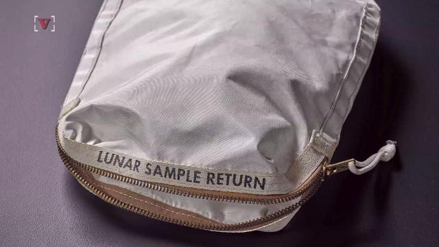 Ladies, if you thought your Birkin bag was expensive, it doesn't compare to astronaut Neil Armstrong's lunar bag.