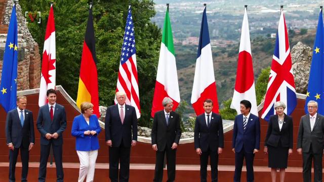 As President Donald Trump and 6 other world leaders head to the city of Taormina in Italy for the G-7 summit, security faces threats like a possible terrorist attack or even the eruption of a nearby volcano. Susana Victoria Perez (@susana_vp) has more.