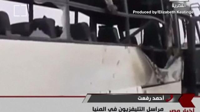 Gunmen kill at least 26 coptic Christians in Egypt. Elizabeth Keatinge (@elizkeatinge) has more.