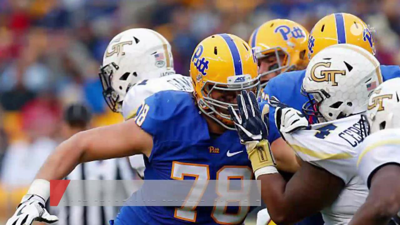 Pittsburgh Panthers lineman Alex Bookser has been arrested on multiple chargers, including driving under the influence.