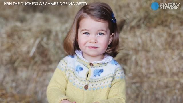 Princess Charlotte through the (2) years