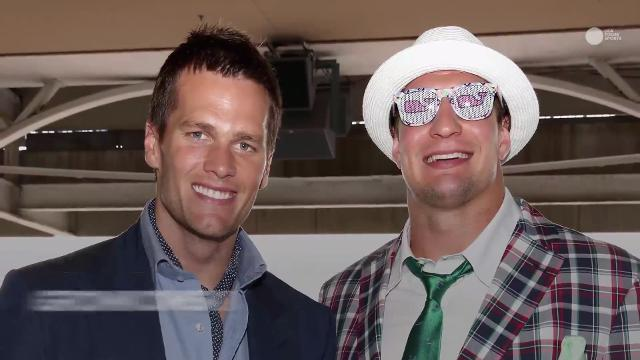 Brady is just one of many A-list celebrities who have been to Churchill Downs for the Run for the Roses.
