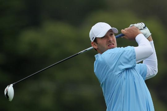 Tony Romo shot a 3-over par 75 at a qualifying event, where he needed to shoot 3-under.