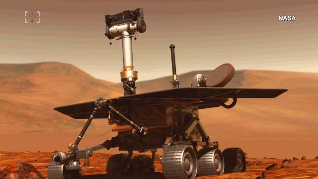 NASA's Opportunity Rover has reached its next destination