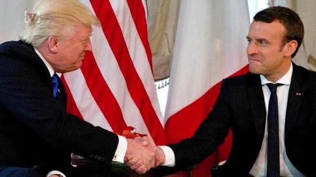 Macron: Trump handshake 'wasn't innocent'