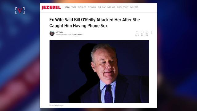 Bill O'Reilly's ex-wife accused him of abuse in alleged affidavit