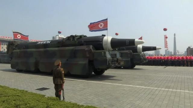 North Korean possibly paraded in Pyongyang