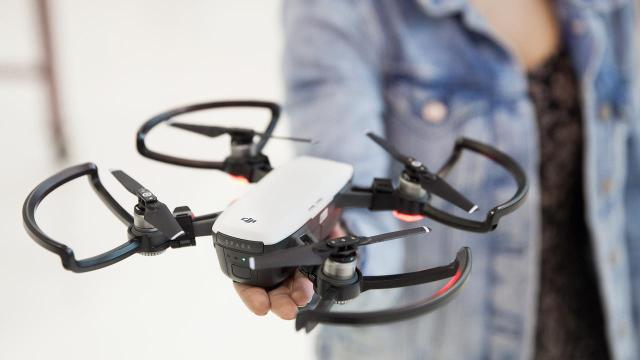 Control this tiny drone with the wave of your hand