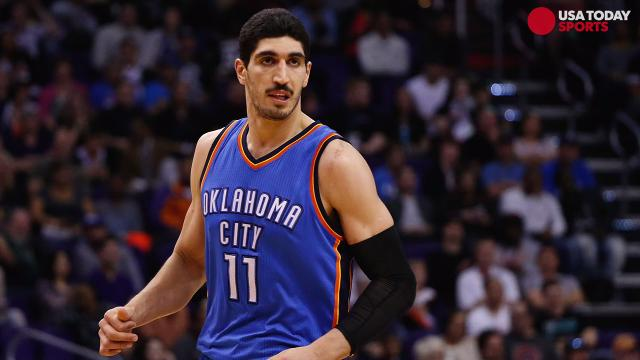 Thunder's Kanter said he believed his passport was canceled in retaliation for his political views,  including his disdain for Turkey's President Recep Tayyip Erdogan.