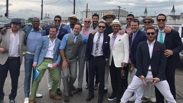 Tom Brady, Patriots make the rounds at the Kentucky Derby