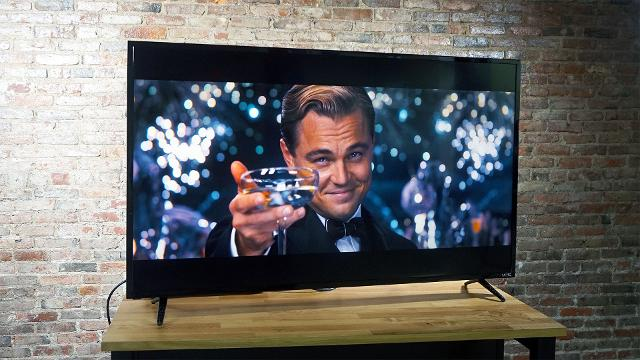 For $550, the Vizio E Series offers 4K and HDR in a 55-inch package.