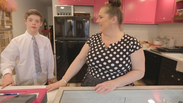 Boy with Down syndrome opens cupcake shop