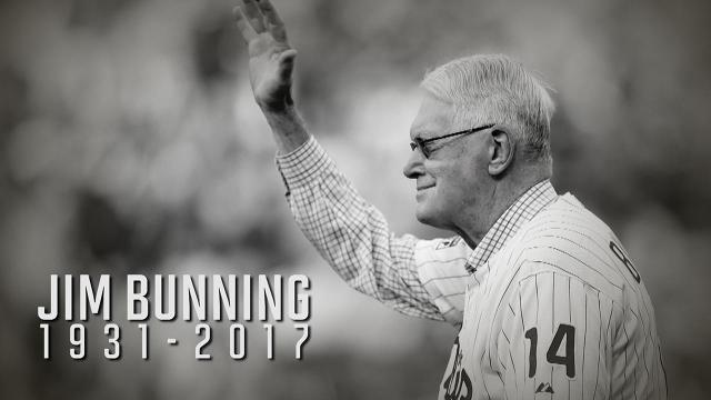 Hall of Fame pitcher and former Kentucky senator Jim Bunning passed away at the age of 85 on Saturday.