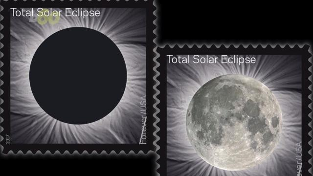 New solar eclipse stamp does something no other stamp can