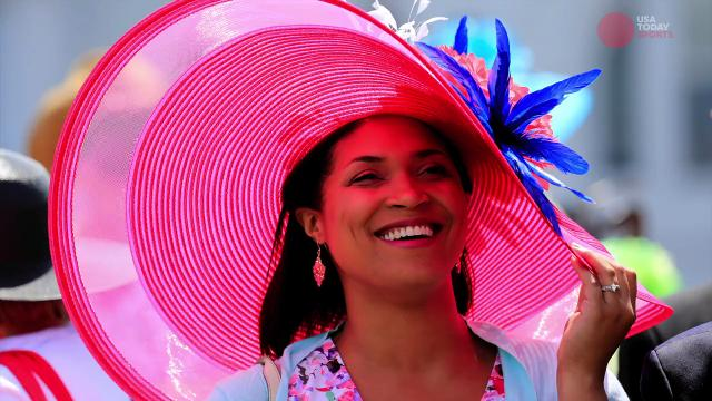 Take a look at some of the unique hats worn at the Kentucky Derby each year.